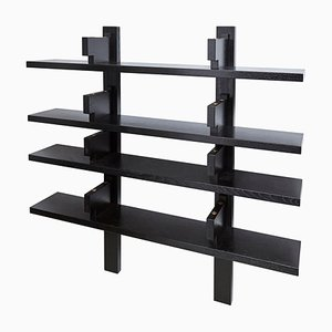 Special Black Edition Wall-Mounted Book Shelve B17 by Pierre Chapo