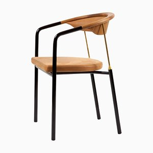 Leder Chair von Annrik Tengler für One Collection