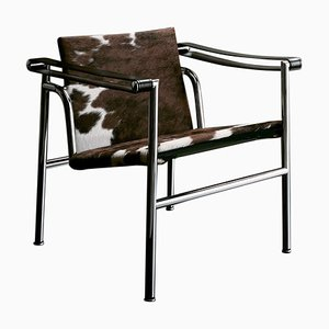 Lc1 Chair by Le Corbusier, Pierre Jeanneret & Charlotte Perriand for Cassina