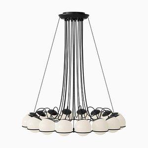 Lampe Modell 2109/16/14 Black Structure von Gino Sarfatti