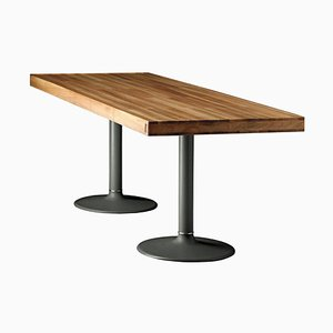Lc11-P Wood Table by Le Corbusier, Pierre Jeanneret & Charlotte Perriand for Cassina