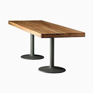 Mesa Lc11-P de madera de Le Corbusier, Pierre Jeanneret & Charlotte Perriand para Cassina