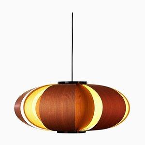Lampada a sospensione Coderch Mini Disa in legno di José Antonio Coderch