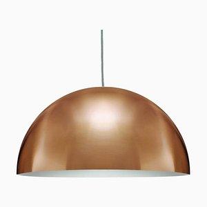 Lampe à Suspension Sonora Medium Or par Vico Magistretti pour Oluce