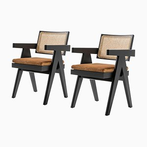 051 Capitol Complex Office Chair by Pierre Jeanneret for Cassina