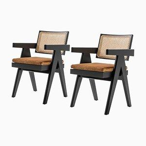 Chaise de Bureau 051 Capitol Complex par Pierre Jeanneret pour Cassina