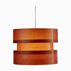 Coderch Large Cister Wood Hanging Lamp