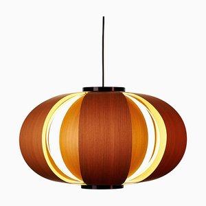 Coderch Large Disa Wood Hanging Lamp