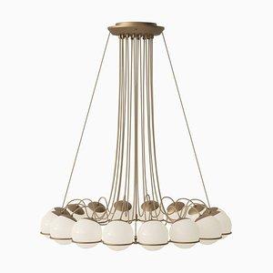 Lampe Modell 2109/16/14 Champagne Structure von Gino Sarfatti