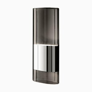 Wandlampe aus Medium Aluminium und Pyrex Glas von Francesco Rota für Oluce