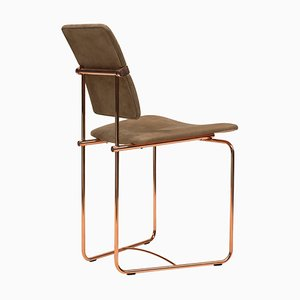 Chair Urban S02 Copper / Fabric Limited Edition by Peter Ghyczy