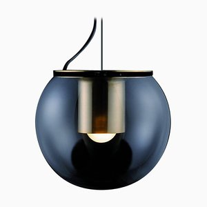 Suspension Lamp the Globe Large Gold by Joe Colombo for Oluce