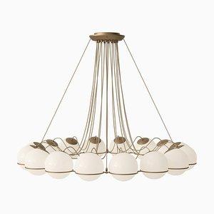 Lampe Modell 2109/16/20 Champagne Structure von Gino Sarfatti