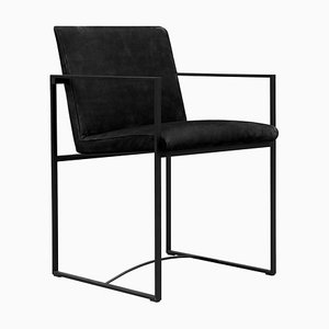 Armchair Urban Maia S06+ Charcoal / Black Fabric by Peter Ghyczy