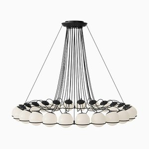 Lampe Modell 2109/24/14 Black Structure von Gino Sarfatti