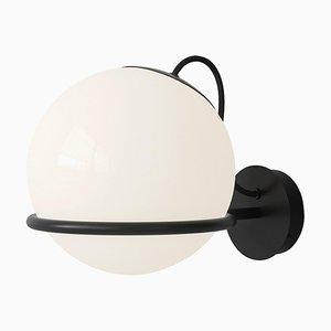 Lampe Modell 237/1 Schwarze Halterung von Gino Sarfatti