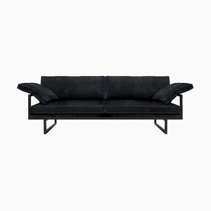 Sofa Urban Brad Gp01 Charcoal or Black Fabric by Peter Ghyczy