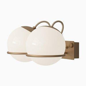 Modell 238/2 Champagner Lampe von Gino Sarfatti