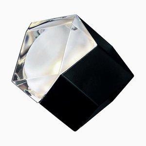 Schwarze Astro Wandlampe von Giopato & Coombes für Oluce