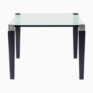 Table d'Appoint Pioneer T56-1 Aluminium / Chêne par Peter Ghyczy