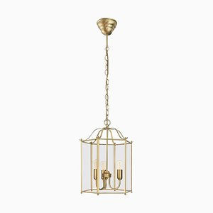 Glimminge Brass Ceiling Lamp with 3 Arms from Konsthantverk