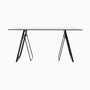 Table Schreibtisch Safari T87 Edelstahl oder Eiche von Peter Ghyczy