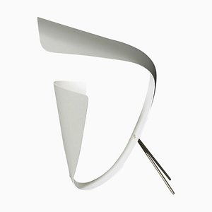 Lampada da scrivania B201 bianca di Michel Buffet