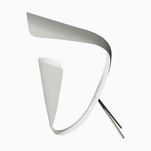 Weiße B201 Schreibtischlampe von Michel Buffet