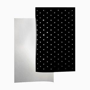 Lampada da parete B205 nera di Michel Buffet