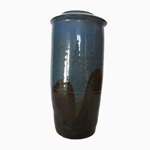 French Stoneware Vase from La Borne, 1970s