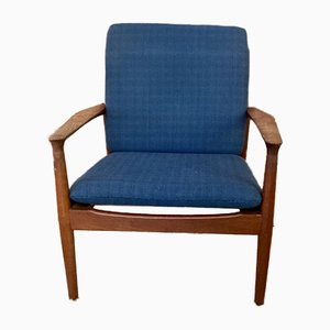 Model 218 Easy Chair by Grete Jalk for Glostrup