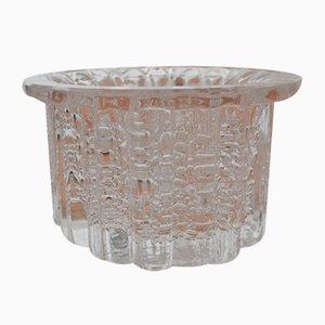 Atlantic Crystal Vase von Willy Johansson für Hadeland Glassverk, Norwegen, 1970er