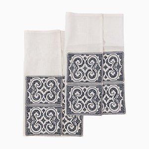 Tovaglioli in lino della collezione Ainu di SoShiro, 2020, set di 2