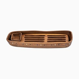 Pok Collection Bread Tray in Walnut from SoShiro, 2019