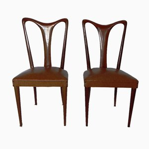 Chairs in the Style of Guglielmo Ulrich, Set of 6