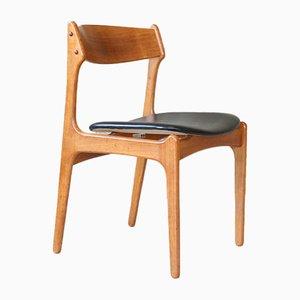 Mid-Century Danish Chair by Erik Buch for Odense Maskinsnedkeri / O. D. Møbler, 1960s