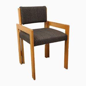 Vintage Stuhl aus Kiefernholz & Stoff, 1970er
