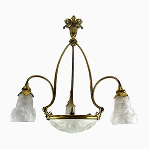 Ceiling Lamp from Degue, France, 1920s