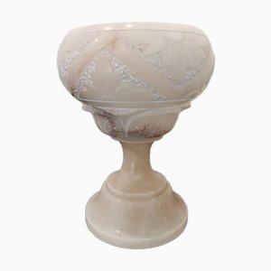 Vintage Alabaster Lamp, 1970s