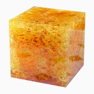 Cube en Résine Fractale, 1970s