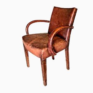 French Art Deco Bridge Chair, 1930s