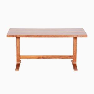 Tschechischer Rechteckiger Mid-Century Modern Eichenholz Tisch, 1960er