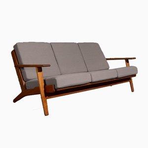 Sofá de tres plazas GE290 de Hans J. Wegner para Getama