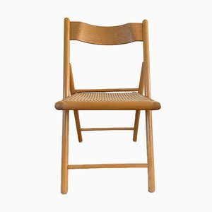 Folding Dining Chairs, 1980s, Set of 4