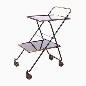 Vintage French Serving Trolley or Drinks Cart, 1960s