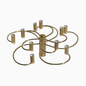 Brass Ceiling or Wall Lamp Sconce from Cosack Leuchten, Germany, 1970s