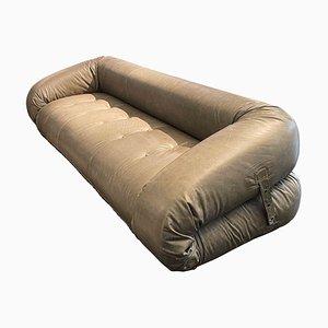 Amphibio Three-Seater Sofa Bed by Alessandro Becchi, 1972