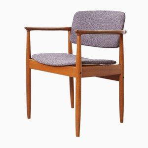 Chaise avec Accoudoirs par Poul Erik Jorgensen pour Farsø Stolefabrik, 1960s