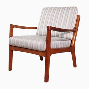 Easy Senator Chair by Ole Wanscher for France & Son, 1960s