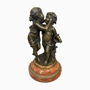 Bronze Sculpture of Cherubs